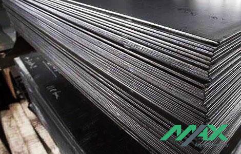 Acero negro en lámina. Presentación en hoja de acero.